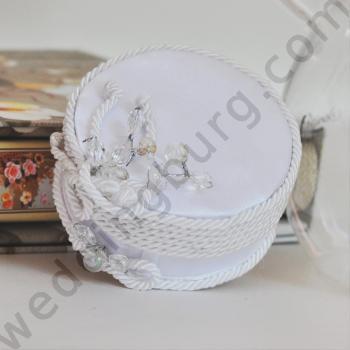 Кутийка за сватбени халки K014