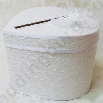 Кутия за финансови поздравления към младоженците КК019