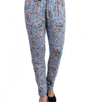 Летен панталон с флорален десен Ichi
