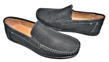 Мъжки мокасини в черно 994
