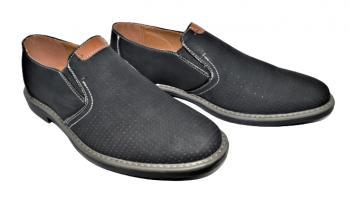 Мъжки обувки без връзки в черно 995