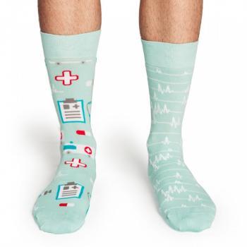 Мъжки памучни чорапи с медицински мотиви
