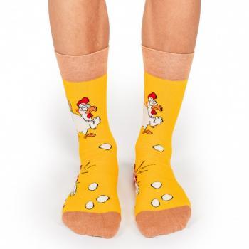 Мъжки памучни чорапи с мотив the cook