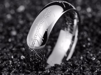 Мъжки пръстен от стомана SR44348