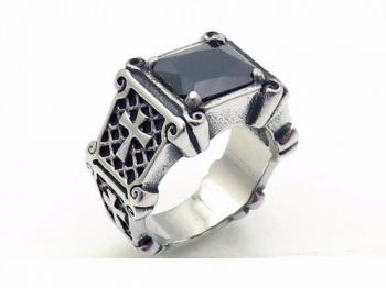 Мъжки пръстен с Оникс SR45955