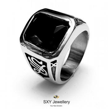 Мъжки пръстен с Оникс SR45956