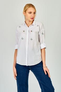 Памучна риза пеперуди