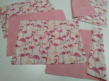 Подложка за маса &8211 фламинго