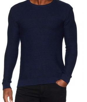 Мъжки пуловер по тялото Casual Friday