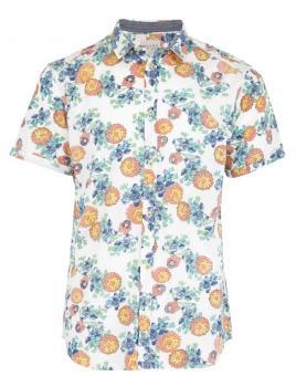 Риза с флорален десен Blend