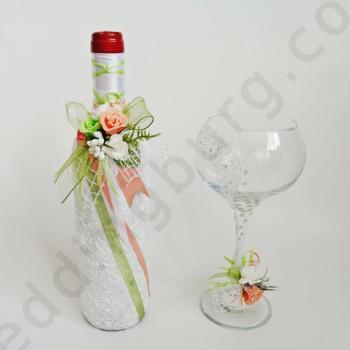 Ритуално вино с украса за бокал RV51