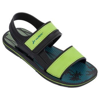 Сандали rider 82196/20534 black/green