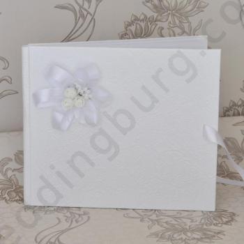 Сватбена книга в бяло, модел PSK02