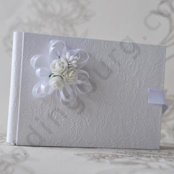 Сватбена книга в бяло, модел PSK04