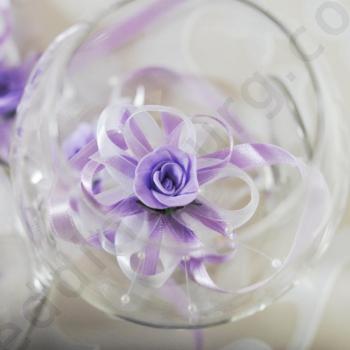 Сватбени гривни в лиалво, модел G027