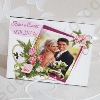 Сватбени магнити с персонален дизайн SVM005