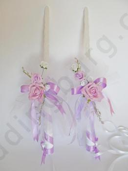 Сватбени ритуални свещи RS017