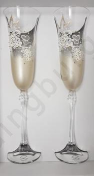 Сватбени, ритуални чаши, модел<br/>SCH0G24