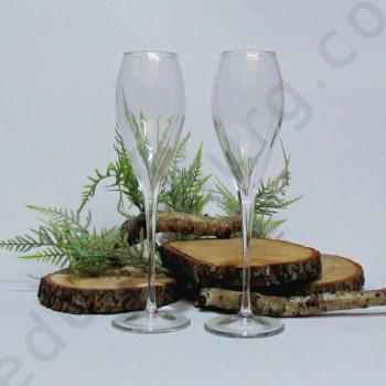 Сватбени чаши, модел GSH04