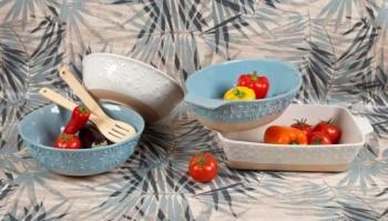 Съдове за печене във фурна &8211 материал stoneware &8211 серия: flower