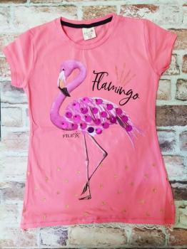 Туника момиче фламинго 10,12,14 г