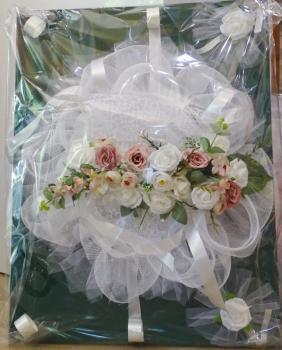 Украса за сватбена кола, модел CD012