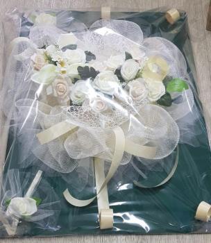 Украса за сватбена кола, модел CD013
