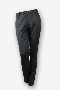 Черни дънки с капси Pulz