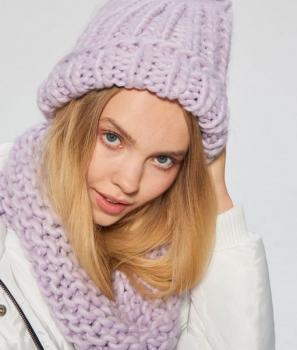 Дамска, плетена Шапка Cropp