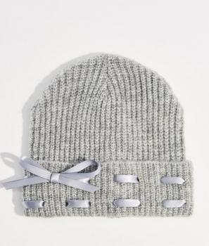 Плетена шапка Mohito