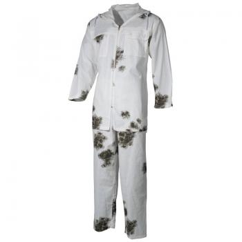 BW костюм от 2 части - Снежен камуфлаж