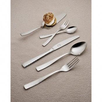 Hammered &8211 комплект прибори за хранене &8211 30 части неръждаема стомана 18/10, 3мм дебелина-vany design