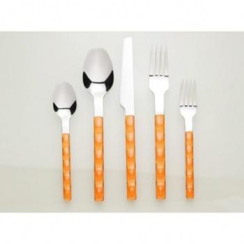 Nuovo &8211 комплект прибори за хранене &8211 30 части &8211 оранжево &8211 vany design