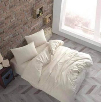 Еcru спален комплект за спалня с два плика Simple collection