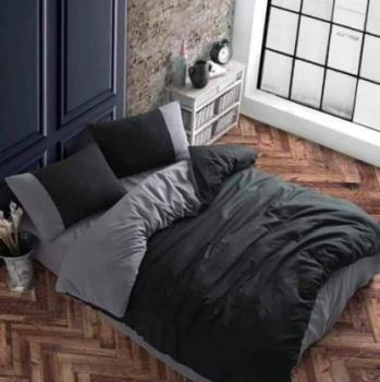 Gray and black  спален комплект за спалня с два плика Simple collection